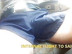 23 kåt kuk ut coach amp; flyet skinnende nylon shorts