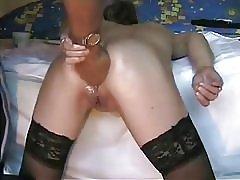 Deep ass fisting min kåt tispe. amatør ekstreme