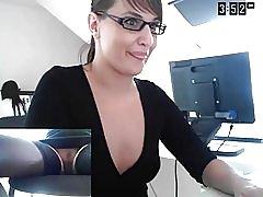 Sekretær + dildo