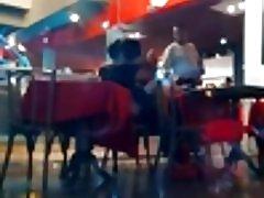 Offentlig sex i restaurant
